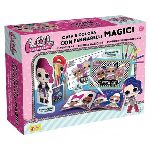 Lol Surprise. Crea E Colora Con Pennarelli Magici