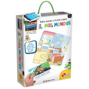 Giocare Educare. Baby Puzzle + Flash Cards Il Mio Mondo