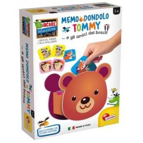 Giocare Educare. Memo Dondolo Tommy e I Suoi Amici Del Bosco