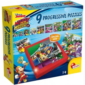 Disney Junior. Puzzle Mickey Progressive 9