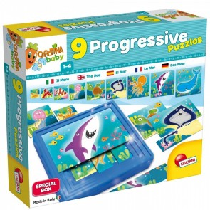 Carotina Baby. Progressive puzzle the sea