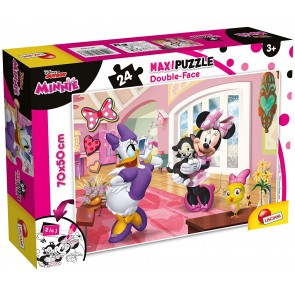 Minnie. Df Supermaxi Puzzle Double-face 24 pz. 70x50 cm. Disney