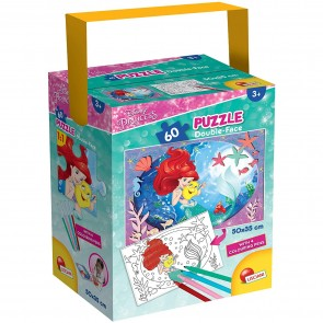 Disney Princess. Puzzle In A Tub Mini 35 X 50 60 Pezzi Little Mermaid