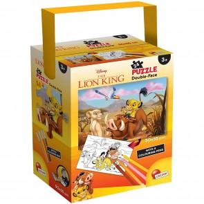 Puzzle In A Tub Mini 35 X 50 24 Pezzi Lion King