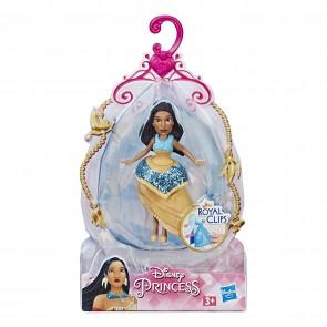 Disney Princess. Pocahontas con sistema Royal Clips e gonna con una clip di chiusura
