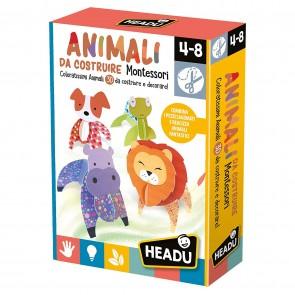 Montessori. Animali da Costruire