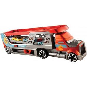 Hot Wheels. Mega Trasportatore Camion Giocattolo per Macchinine, Può Contenere fino a 14 Veicoli