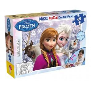 Disney Frozen. Puzzle Df Supermaxi 60 Frozen Sisters Forever