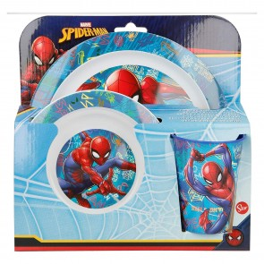 Spiderman. Set micro 3 pezzi