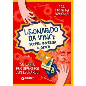 Leonardo. Scopri, inventa e gioca. Con 50 Carte