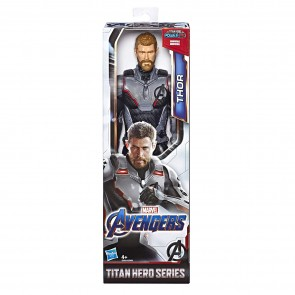 Hasbro Marvel Avengers: Endgame - Thor Titan Hero compatibile con Power FX - Action Figure da 30 cm, Power FX non incluso