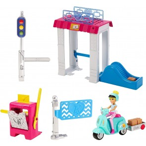 Barbie On The Go. Post Office Parti e Vai