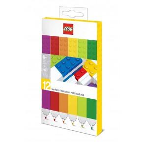 Pennarelli LEGO. Confezione 12 colori