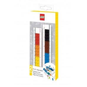 Righello LEGO costruibile. 15 o 30 cm