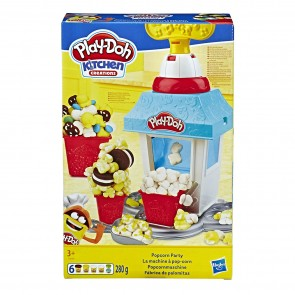 Play-Doh Kitchen Creations. Popcorn Party