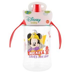Mickey Mouse. Bicchiere allenamento Easy bambino curvo 440 ml. Disney Baby