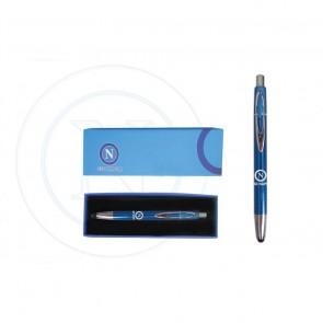 Gadget SSC Napoli. Penna Touch azzurra con logo