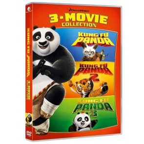 Kung Fu Panda Collection. 3 Film 1 - 2 - 3 (3 DVD)