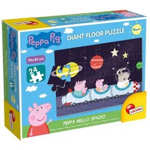 Peppa Pig. Giant Floor Puzzle - Peppa nello spazio