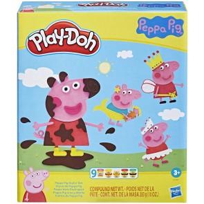 Peppa pig stylin set + 9 vasetti