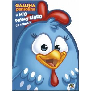 Gallina Puntolina. Il mio primo libro da colorare. Ediz. a colori