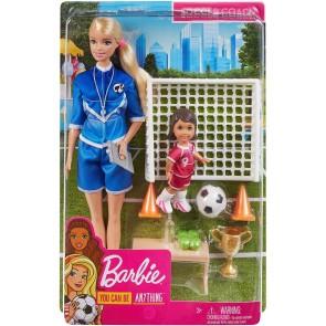 Barbie Calciatrice Playset