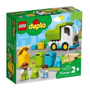 LEGO DUPLO Town (10945). Camion della spazzatura e riciclaggio