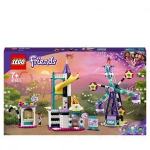 LEGO Friends (41689). La Ruota panoramica e lo scivolo magici