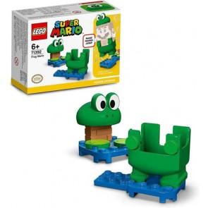 LEGO Super Mario (71392). Mario Rana. Power Up Pack, Giocattoli per Bambini, Giocattoli Creativi