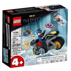 LEGO Super Heroes (76189). Scontro tra Captain America e Hydra