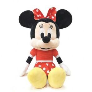 Peluche Disney Minnie Vestito Rosso 54 Cm