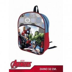 Zaino Avengers  Asilo Con Tasca 2 ZIP